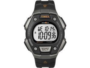 Timex Men's Ironman Classic 30-Lap | Black Band Gray Case Indiglo | Watch T5K821