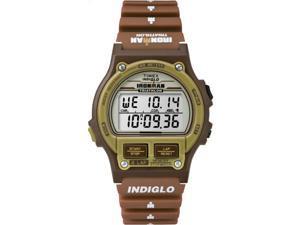 Timex T5K842 Ironman Triathlon Original 8-Lap Timer Brown Resin Sport Watch
