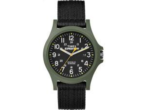 Timex Men's Expedition Acadia | Black Strap Green Case | Watch TW4999800
