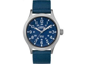 Timex Men's Expedition Scout | Blue Strap & Dial Indiglo Outdoor Watch TW4B07000