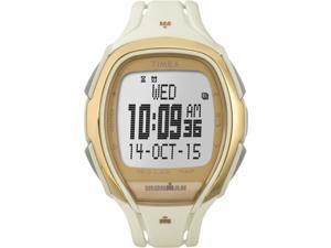 Timex Ironman Sleek 150 Lap Recall | White/Gold, Tapscreen Sport Watch TW5M05800