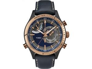 Timex Intelligent Quartz | Chonograph Timer Perfect Date Bronze Bezel TW2P72700