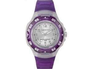 Timex Women's Marathon | Purple Band & Bezel Clear Case | Sport Watch T5K503