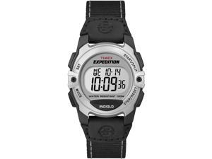 Timex Expedition Chrono | Black Nylon Strap Digital Face | Outdoor T49957