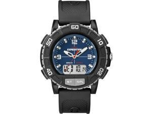 Timex Men's Expedition Double Shock | ISO Chronograph Black Case | Rugged T49968J