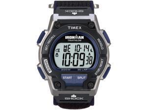 Men's Shock-Resistant Sport Watch | 30-Lap Timer Gray/Black Timex Endure T5K198
