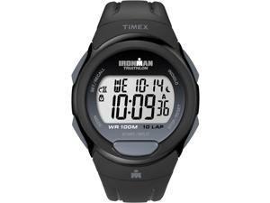 Timex Ironman Men's | Black Case & Strap | Digital 10-Lap Full Size Watch T5K608