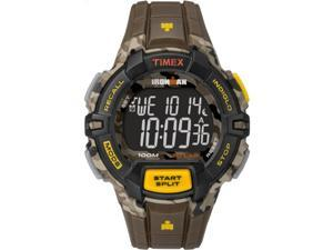 Timex TW5M02100 Men's Ironman 30 Lap, Interval Timer Rugged Camo Sport Watch