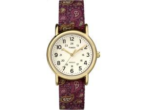 Timex Weekender Paisley Strap | Cream 24-Hour Dial | Casual Watch TW2P74100