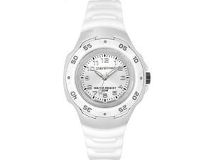 Timex T5K542 Women's Marathon White Resin 50m Water Resistant Analog Watch