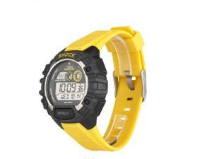 Timex T49974 Mens Yellow Band Expedition Shock World Time Alarm Chrono Watch