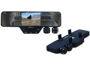 Falcon Zero F360 HD Dashboard Camera - Rear View Mirror, Dual Cam 1080p HD, 180-degree Rotating - 32GB SD Card Included