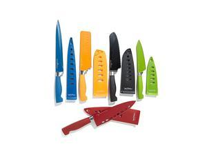 Wolfgang Puck Bistro Elite 10-piece Colored Nonstick Cutlery Knife Set