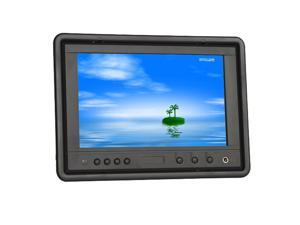 "LILLIPUT 7"" HR702-NP/C/T 16:9 VGA TFT LCD Touch Screen Headrest Monitor For Car Computer And Backup Camera System + Built-in Speaker & Remote Control"