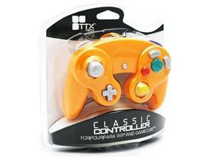 TTX Tech - New Wired Controller for Gamecube/Wii - Orange