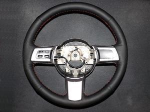 Mazda CX-7 2007-13 steering wheel cover 2 by RedlineGoods