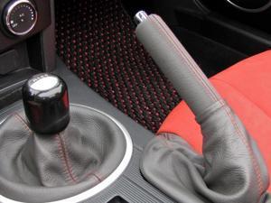 Mazda Miata NC 2006-15 ebrake handle cover by RedlineGoods