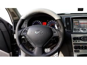 Infiniti G37 2008-13 steering wheel cover by RedlineGoods