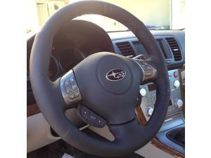 Subaru Outback 2005-09 steering wheel cover by RedlineGoods