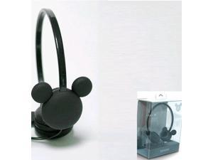 iRiver IDH-M100 Mickey Mouse Headphones IDH-M100 Black /GENUINE