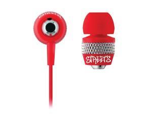 Coby CV-E55RD Streets Urban Earbuds/Headphones CV-E55 Red