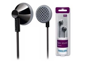 Philips SHE2000 Black In-Ear Headphones Bass Sound SHE2000 Black