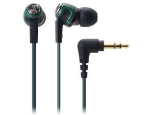 Audio-technica ATH-CK323M/GR In-Ear Earphones headphones ATHCK323M Green GENUINE