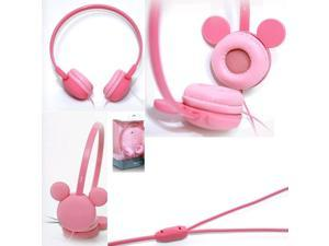 iRiver IDH-M100 Mickey Mouse Headphones IDH-M100 Pink /GENUINE