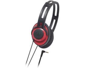 Audio-technica ATH-XS5/RD Portable Headphones 40mm ATHXS5 Red /GENUINE