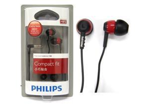Philips SHE7000BR In-Ear Headphones SHE7000 Black/Red GENUINE