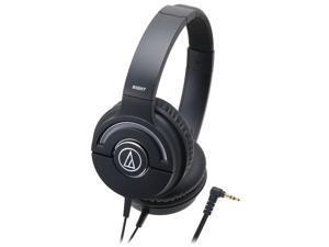Audio-Technica ATH-WS55X/BK Headphones Solid Bass ATHWS55X Black /GENUINE