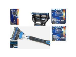 Gillette Fusion PROGLIDE 1 Razor + 8 Cartridges Refills Blade Made in Germany