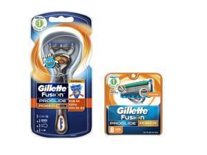 Gillette Fusion Proglide Flexball Power Men's 1 Razor with 9 Razor Blade