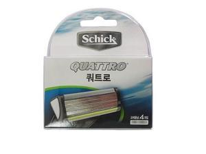 Schick QUATTRO Shaving 4 Cartridges Refills Blade Made in Germany /GENUINE