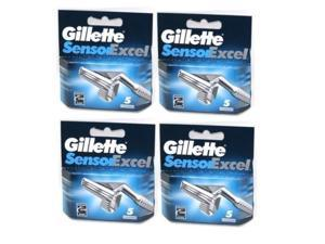 Gillette Sensor Excel Razor Cartridges - 20 Pack