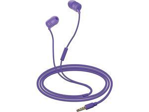 Coby CV-E112PU Simply Sound Stereo Earbuds with Mic Headphones CVE112 PURPLE