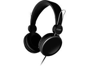 COBY CV-H802BK Bass Boost Stereo Headpones CVH802 Black