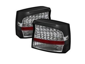 Black LED Taillights - Spyder Auto