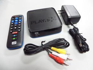 Western Digital WD TV Play Live WI-FI 1080P Streaming HD Media Player with Netflix Hulu Plus WDBMBA0000NBK WDBHZM0000NBK