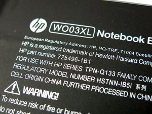 Genuine HP WO03XL Notebook Battery 11.1V 33Wh 725606-001 725496-1B1 HSTNN-IB5I for HP PAVILION 13 HP PAVILION 13Z HP SPLIT 13 HP SPLIT 13T HP PAVILION X2