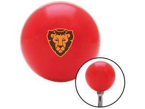 American Shifter Company ASCSNX1592659 Lion Head Geometric Red Shift Knob fits Animal Wildlife WWF Vet transmission vet wild peta fluffy wildlife adorable wwf cute zoo vet veterinary pet furry animal