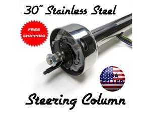 """Helix Suspension Brakes and Steering VQL709177 1962 Chevrolet C10 Pickup 30"""" Stainless Steel Steering Column steering roadster"""
