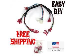 keep it clean wiring accessories interior accessories automotive keep it clean wiring accessories 522322rsl 1978 1987 el camino universal instrument gauge wire harness