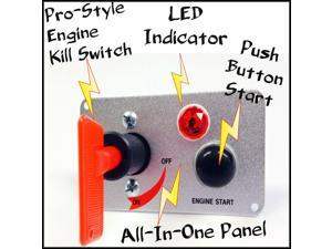 Keep It Clean Wiring Accessories RSL311792 1984 Oldsmobile Omega Push Button Start Module w/ Kill Switch 12V 250 Push Pro