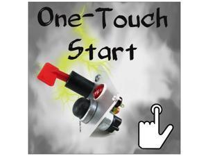Keep It Clean Wiring Accessories RSL308414 1980 Oldsmobile Omega Push Button Start Module w/ Kill Switch DIY Pro 6V NHRA