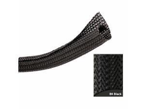 """Keep It Clean Wiring Accessories VRT175996 3/4"""" Black Ultra Split Wrap Wire Loom - 10 Feet Custom Custom B Rat Street A"""