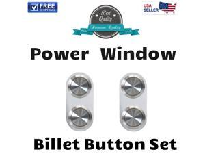 1961 - 1966 Ford Truck Premium Power Window Buttons complement 12v front kit drivers 2 button professional passenger master rear lock build up aluminum led for switch class fits driver control custom