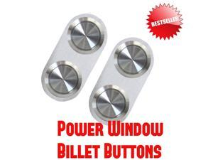 1970 - 1980 Monte Carlo Premium Power Window Buttons front strengthen brushed x high end enhance repair side led switch kit boost set two switches build up for master complement kit lh rh drivers