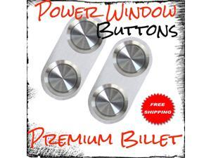 1934 - 1953 Oldsmobile Premium Power Window Buttons lh rh regulator jdm complement luxury class upgrade 2 button professional increase driver led side boost lock combo high end kit switch front two