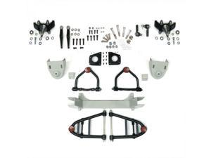 Helix Suspension Brakes and Steering HEXIFS1062258NS Mustang II 2 IFS Front End kit for 55-57 Chevy Bel Air fits Wilwood Brakes